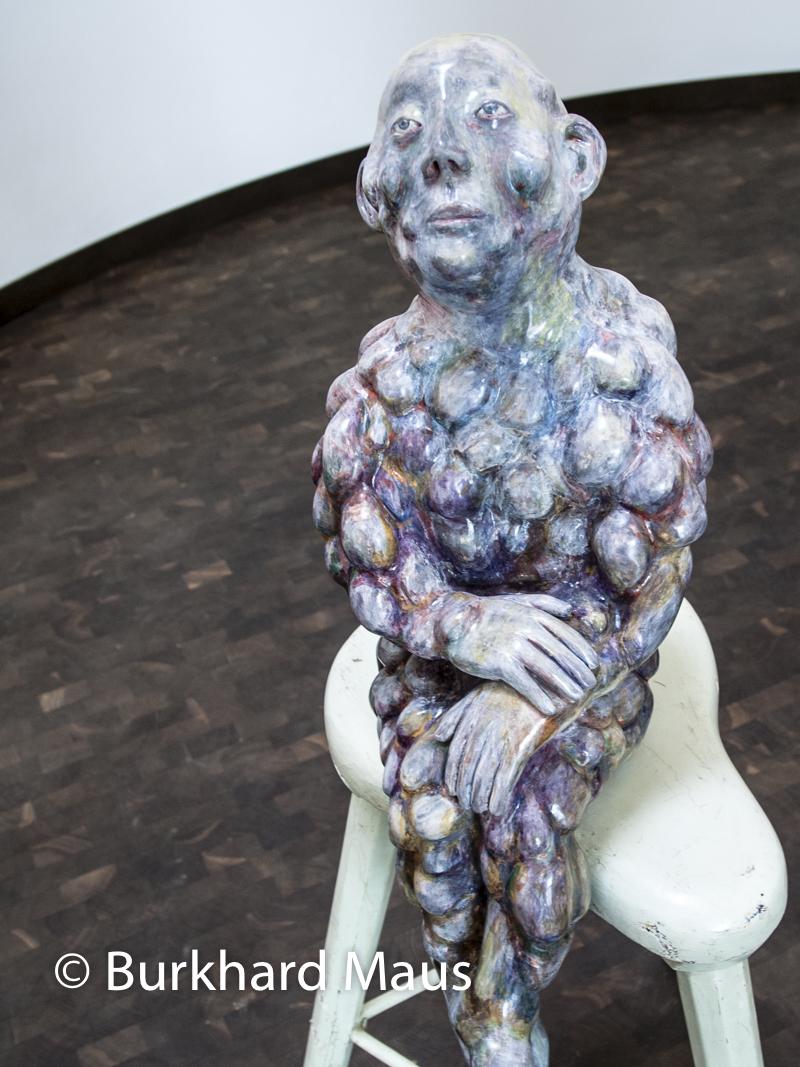 "Paloma Varga Weisz, ""Beulenmann"", Skulpturenhalle / Thomas Schütte Stiftung"