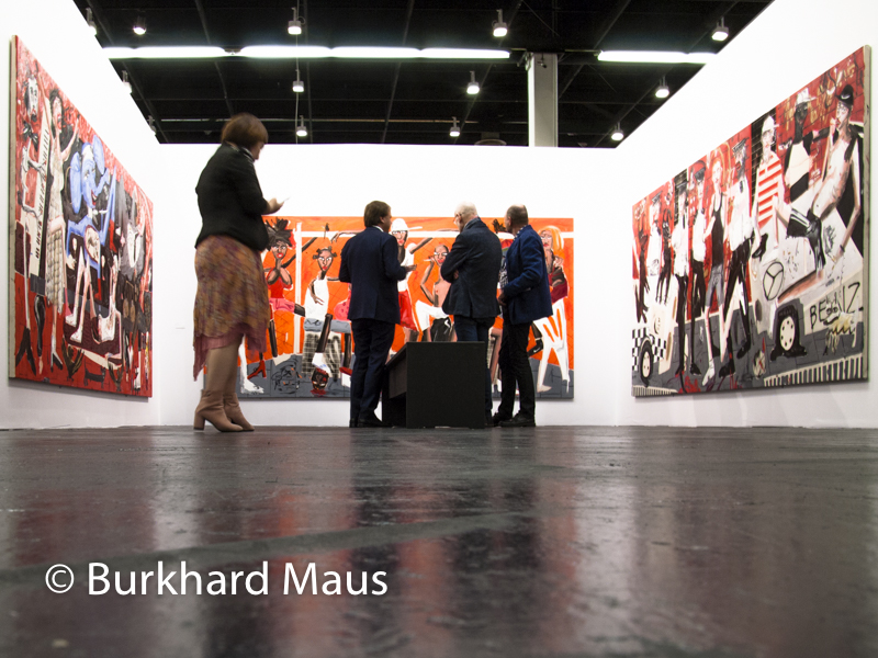 Dale Lewis, Galerie Choi & Lager, Art Cologne 2017