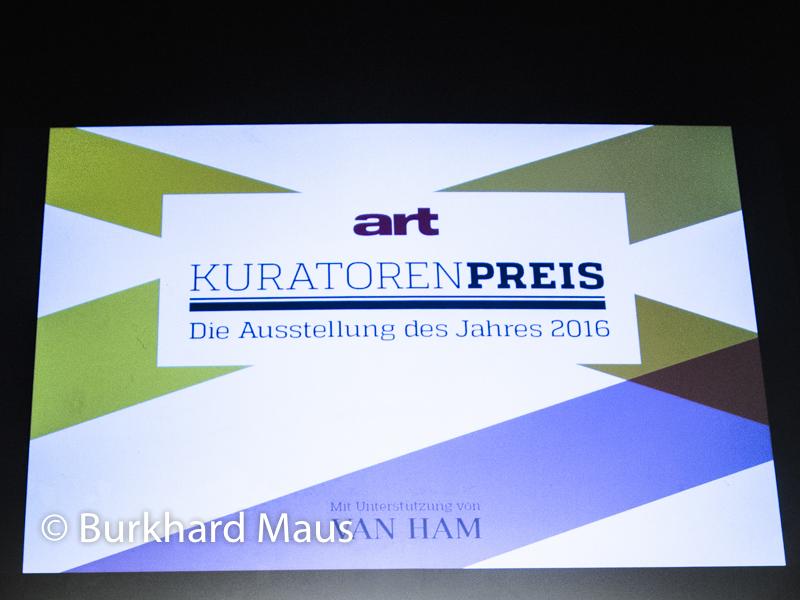 Art Kuratorenpreis 2016