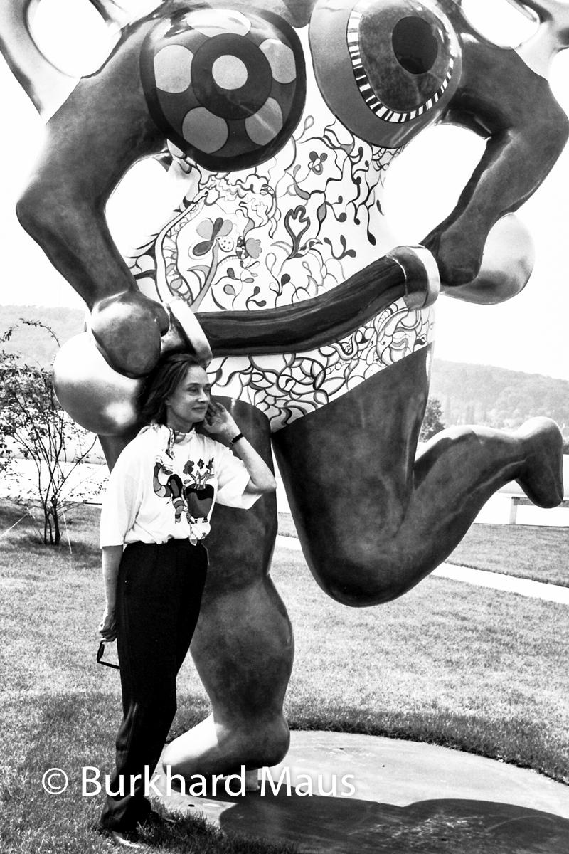 Niki de Saint Phalle, (Portrait)