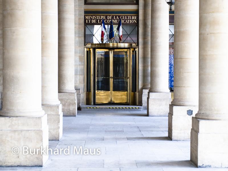 Ministrè de la Culture, Paris