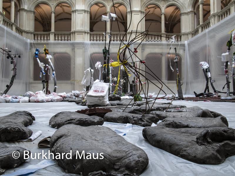"Michael Dean, ""Tenfer Tender"" (détail), Skulptur Projekte Münster 2017"