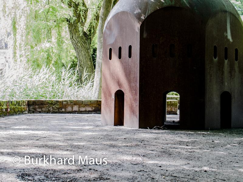 """Thomas Schütte, """"Nuclear Temple"""", (détail), Skulptur Projekte Münster 2017"""