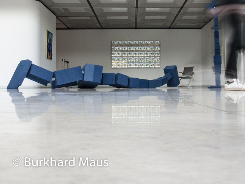 """Hito Steyerl, """"HellYeahWeFuckDie"""", (détail), Skulptur Projekte Münster 2017, © Burkhard Maus"""