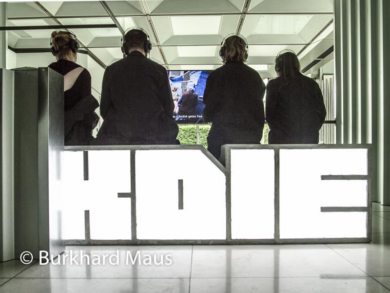 "Hito Steyerl, ""HellYeahWeFuckDie"", (détail), Skulptur Projekte Münster 2017"