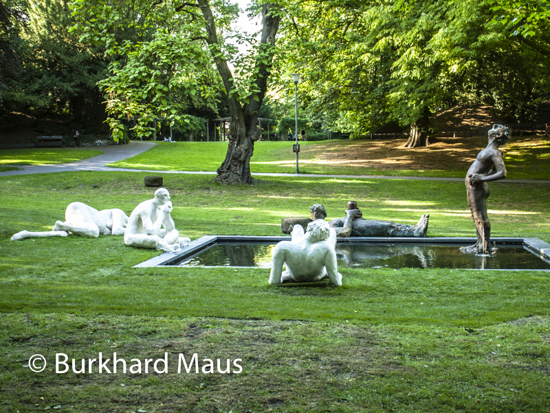 "Nicole Eisenman, ""Sketch for a Fountain"", Skulptur Projekte Münster 2017"