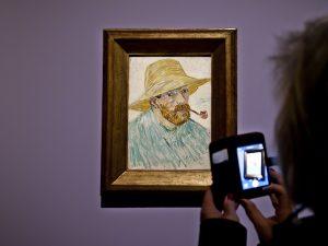 "Vincent van Gogh, ""Auto-portrait"", Fondation Vincent van Gogh Arles, Arles"