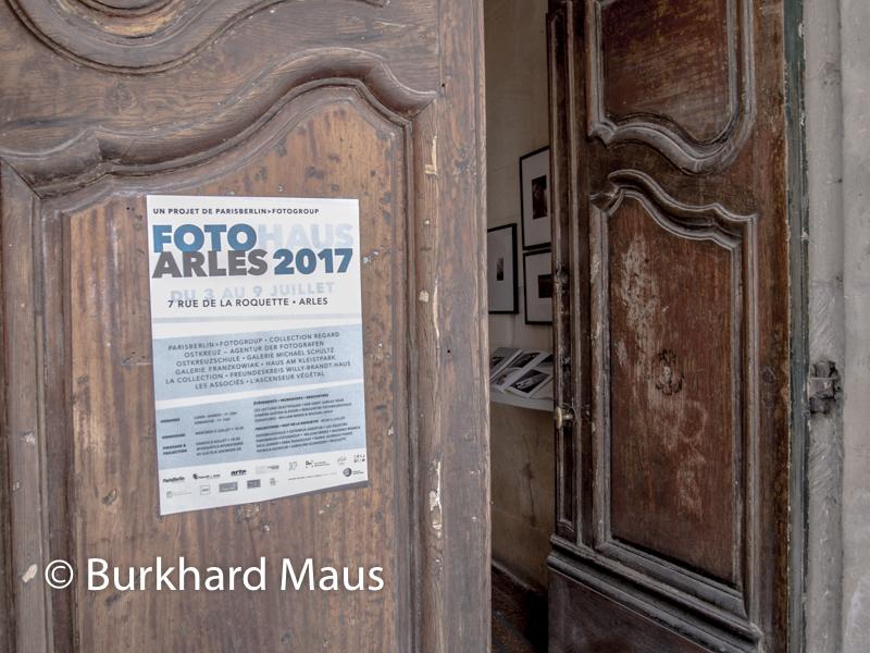Fotohaus, Les Rencontres d'Arles 2017