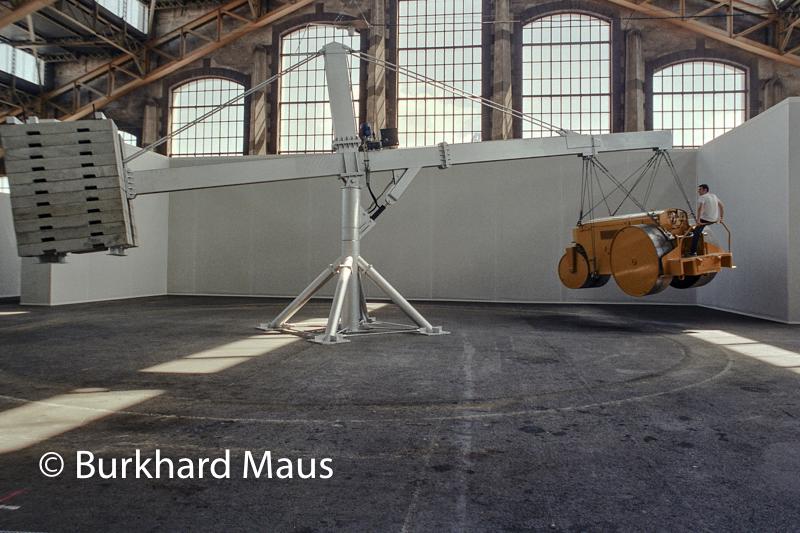 """Chris Burden, """"The Flying Steamroller"""", Biennale d'Art contemporain de Lyon"""