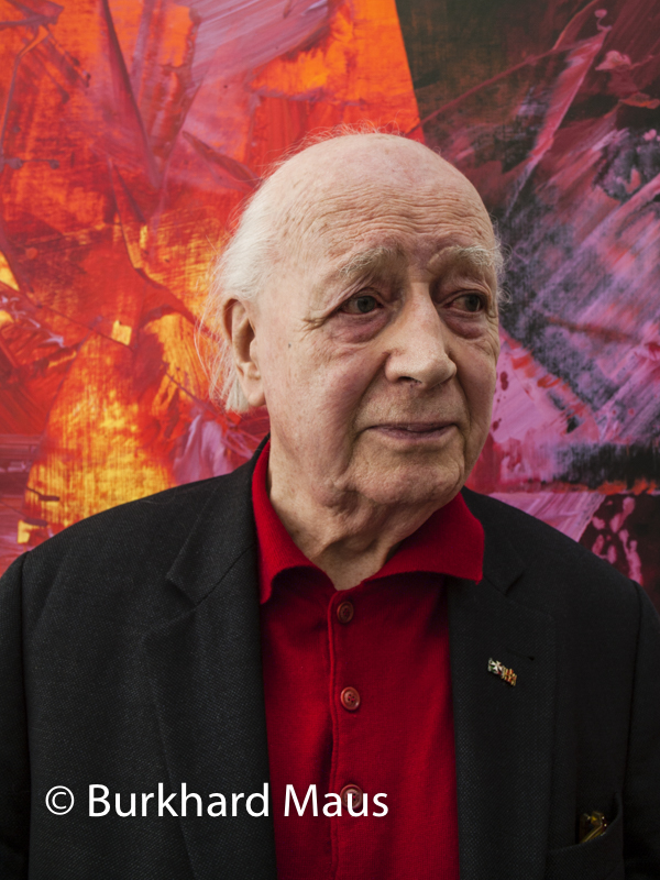 Karl Otto Götz, (Portrait)