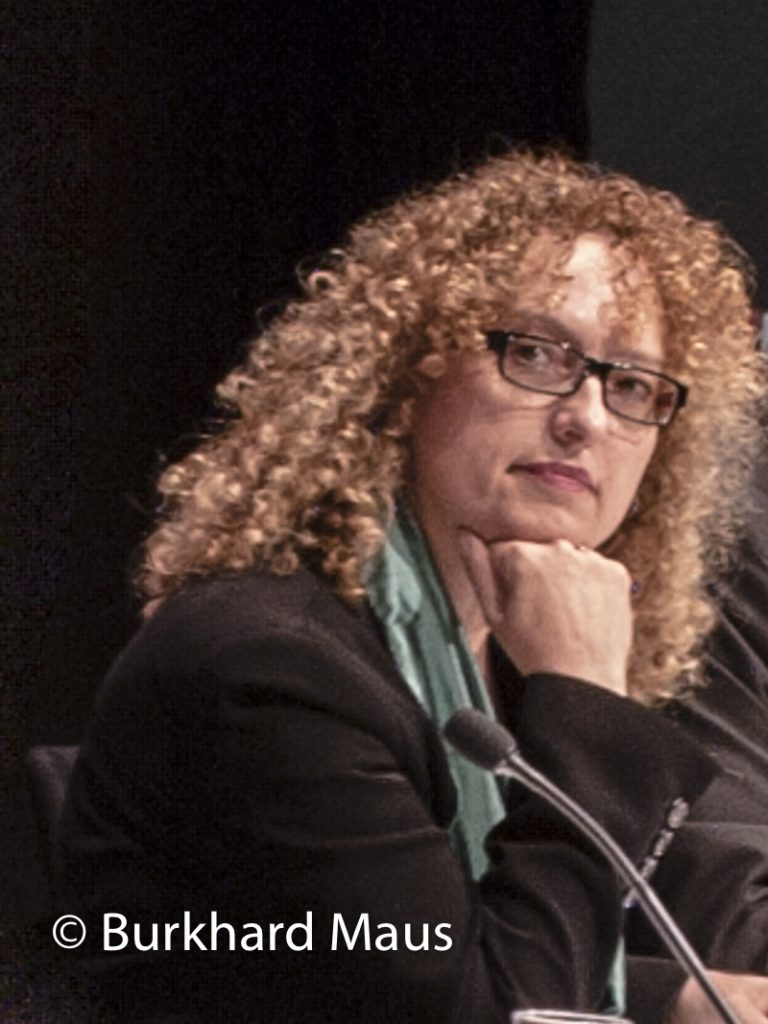 Carolyn Christov-Bakargiev, (Portrait)