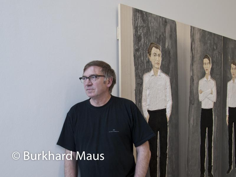 Stephan Balkenhol, (Portrait)