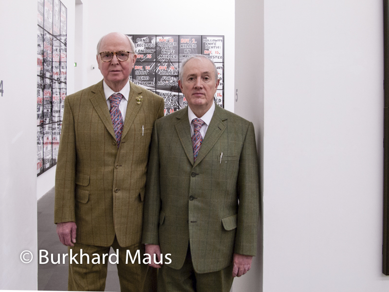 Gilbert & George, (Portrait)