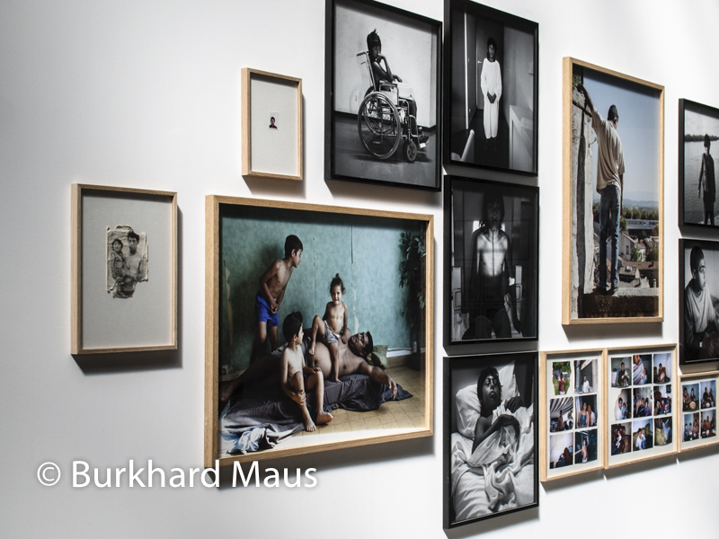 Mathieu Pernot, (détail der Ausstellung), Les Rencontres d'Arles 2017
