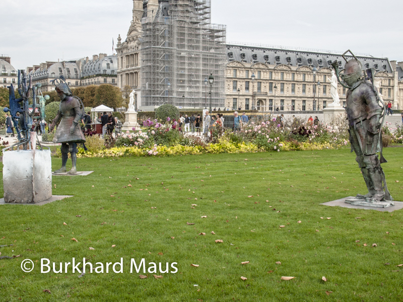 """Folkert De Jong, """"Valentin"""", Foire Internationale d'Art Contemporain (FIAC) 2017: Hors les murs – Jardin des Tuileries, Paris"""
