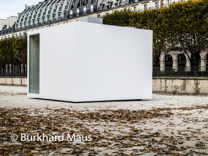 "Christian de Portzamparc, ""Replicable Space"", Foire Internationale d'Art Contemporain (FIAC) 2017: Hors les murs – Jardin des Tuileries, Paris"