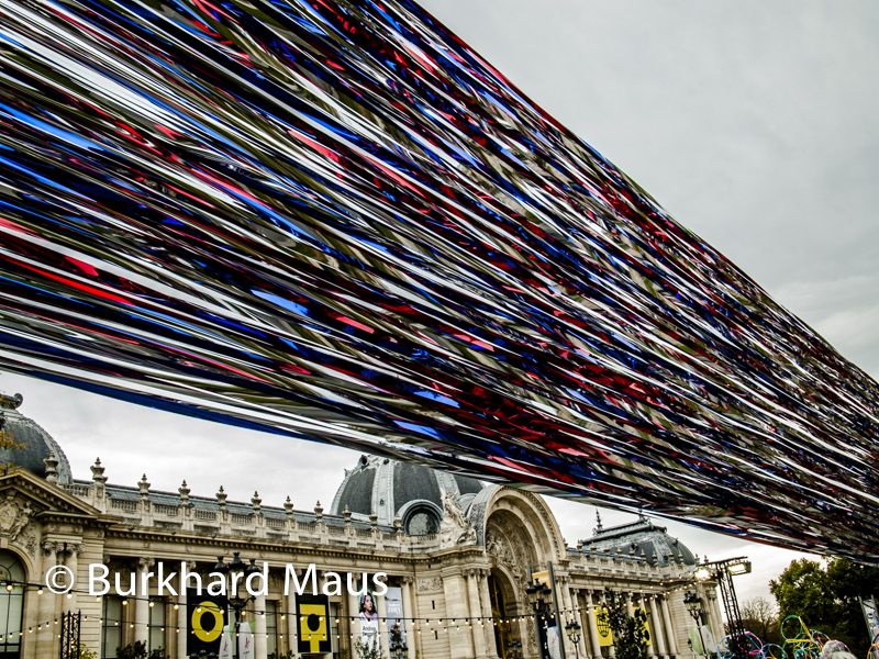 "Seung Taek Lee, ""Sound of Wind"" (détail), Foire Internationale d'Art Contemporain (FIAC) 2017, One Site, Grand Palais-Petit Palais, Paris"