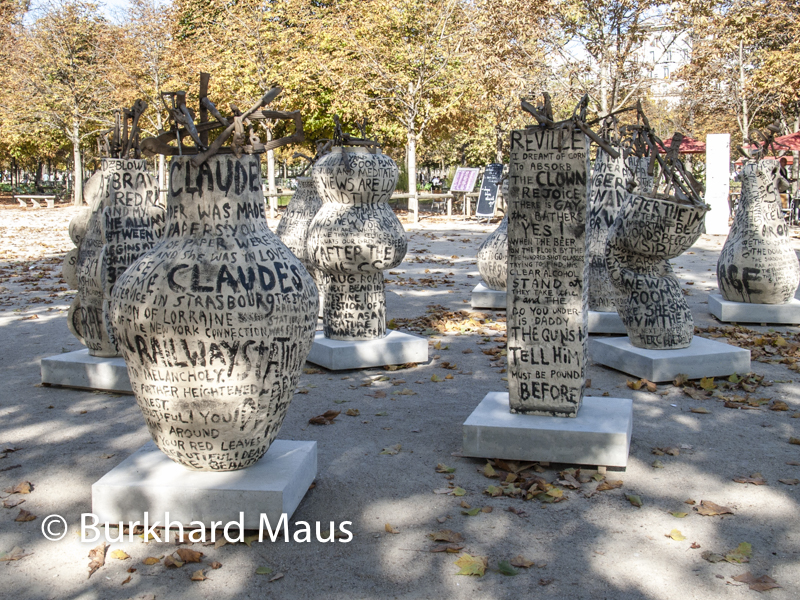 "Jim Dine, ""Thru The Stardust, The Heat On the Lawn (Claude)"", Foire Internationale d'Art Contemporain (FIAC) 2017: Hors les murs – Jardin des Tuileries, Paris"