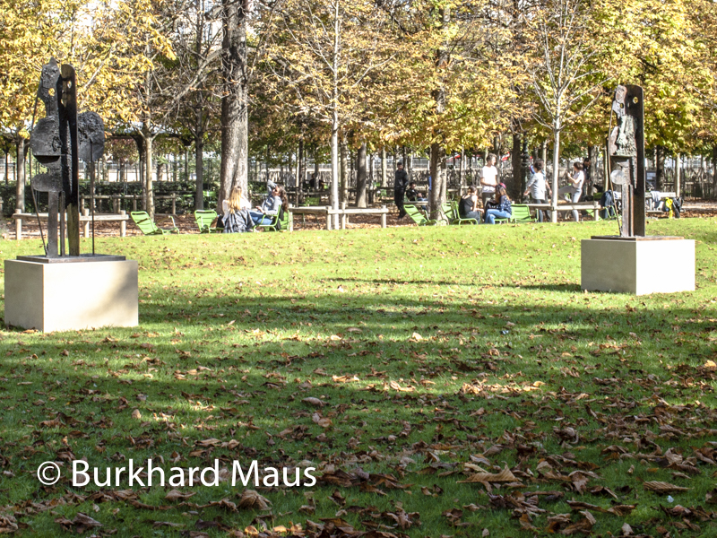 """George Condo, """"Standing Form"""", Foire Internationale d'Art Contemporain (FIAC) 2017: Hors les murs – Jardin des Tuileries, Paris"""