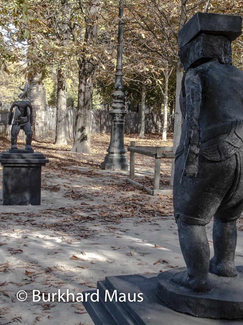 """Joao Vasco Paiva, """"Taman Creatures"""", Foire Internationale d'Art Contemporain (FIAC) 2017: Hors les murs – Jardin des Tuileries, Paris"""
