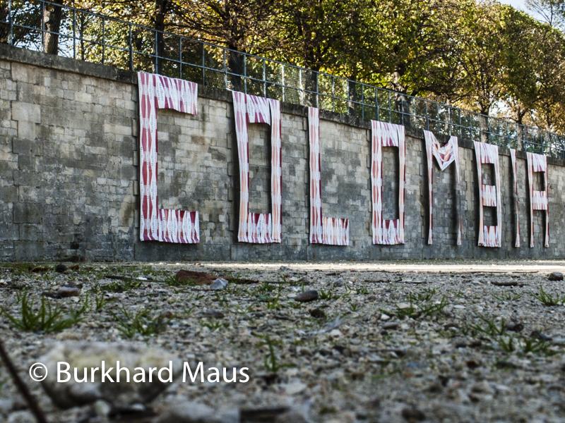 "Antonio Caro, ""Colombia-Marlboro"", Foire Internationale d'Art Contemporain (FIAC) 2017: Hors les murs – Jardin des Tuileries, Paris"