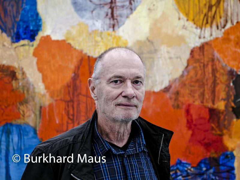 Per Kirkeby, (Portrait)