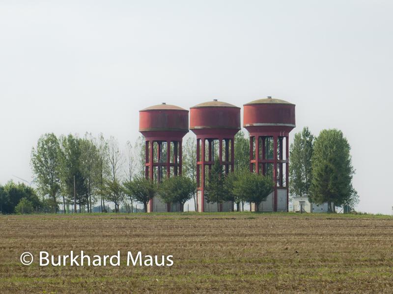 Réservoir d'eau, Region Hauts-de-France, Département Somme, Arrondissement Amiens