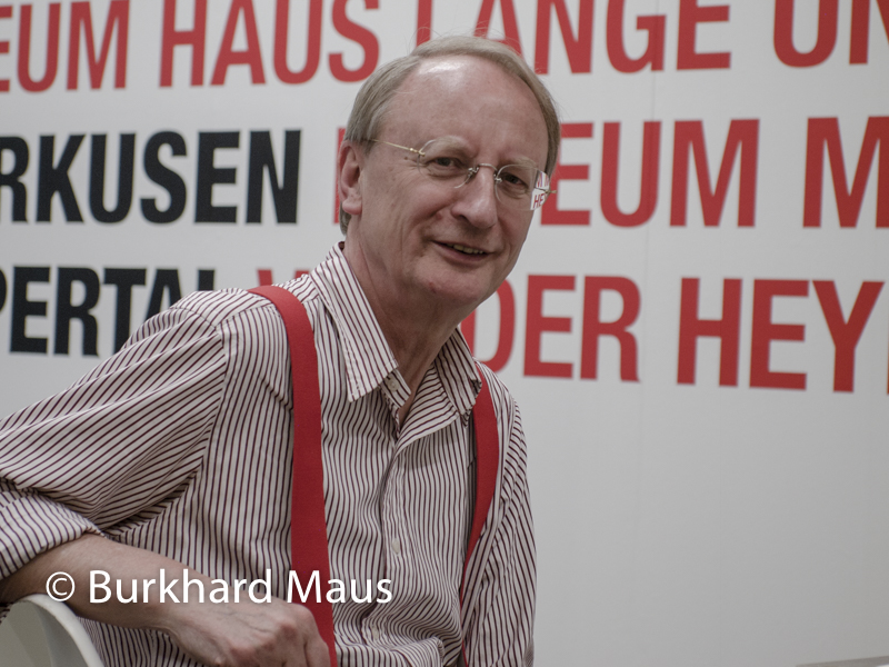 Klaus Staeck, (Portrait)