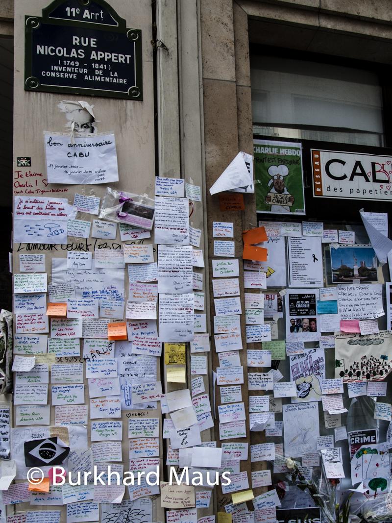 Charlie Hebdo, Rue Nicolas Appert