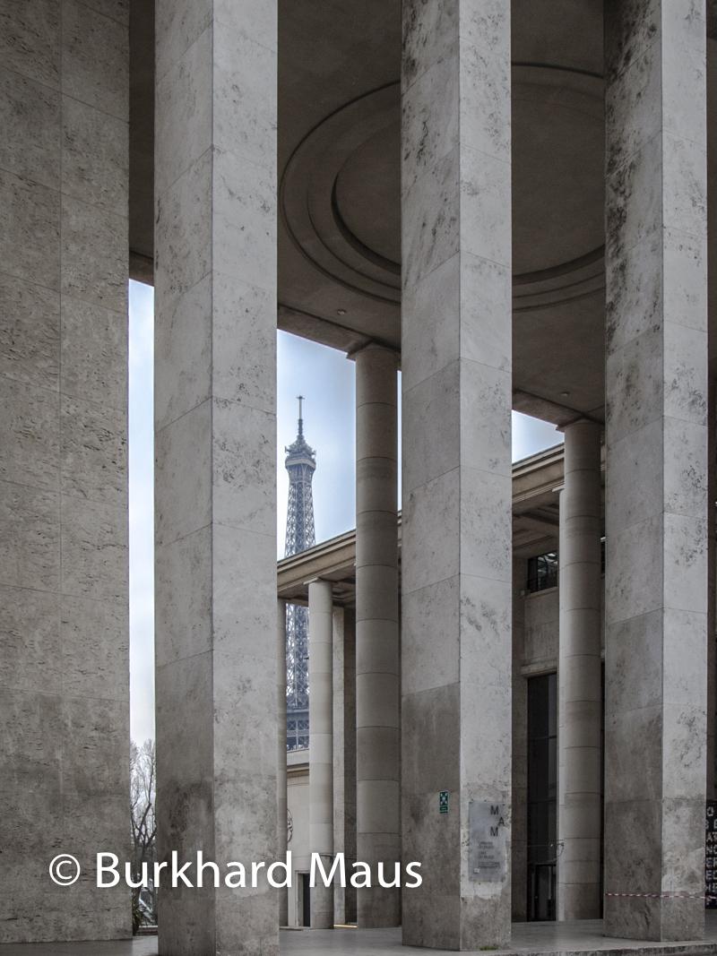 Musée d'Art Moderne de la Ville de Paris (l.), Palais de Tokyo (r.), Paris