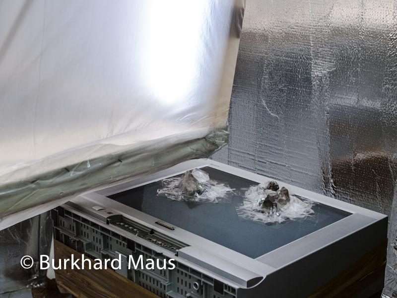 """Thomas Hirschhorn, """"Crystal of Resistance"""" (détail), Pavillon Suisse, Esposizione Internazionale d'Arte"""