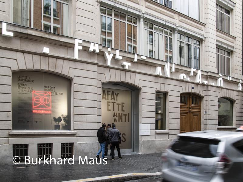 La Fayette Anticipations, Galerie, Fassade, Frontansicht