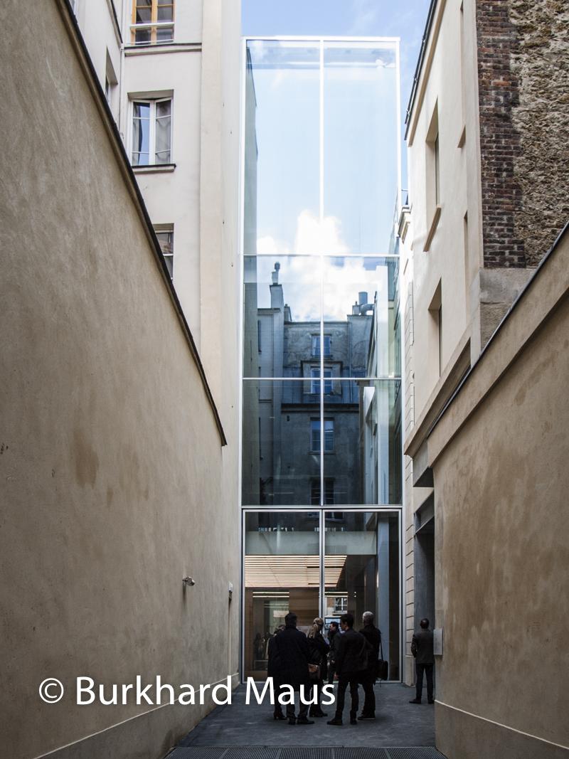 La Fayette Anticipations, Accès / Eingang 44, rue Sainte-Croix-de-la-Bretonnerie, Paris