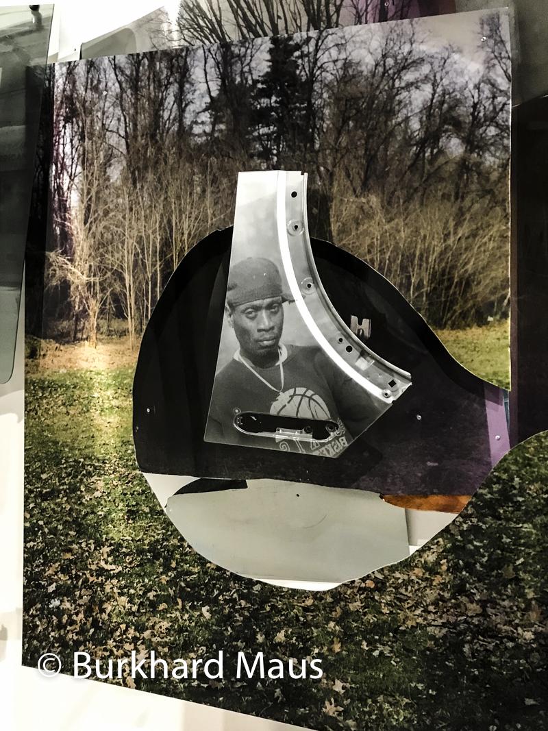 """Mohamed Bourouissa,""""Urban Riders"""" (détail), Musée d' Art moderne de la Ville de Paris, Paris"""