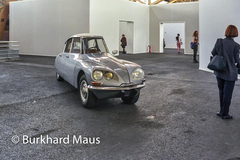 "Gabriel Orozco, ""La D.S."", La Biennale de l'Art contemporain de Lyon (1997), Lyon"