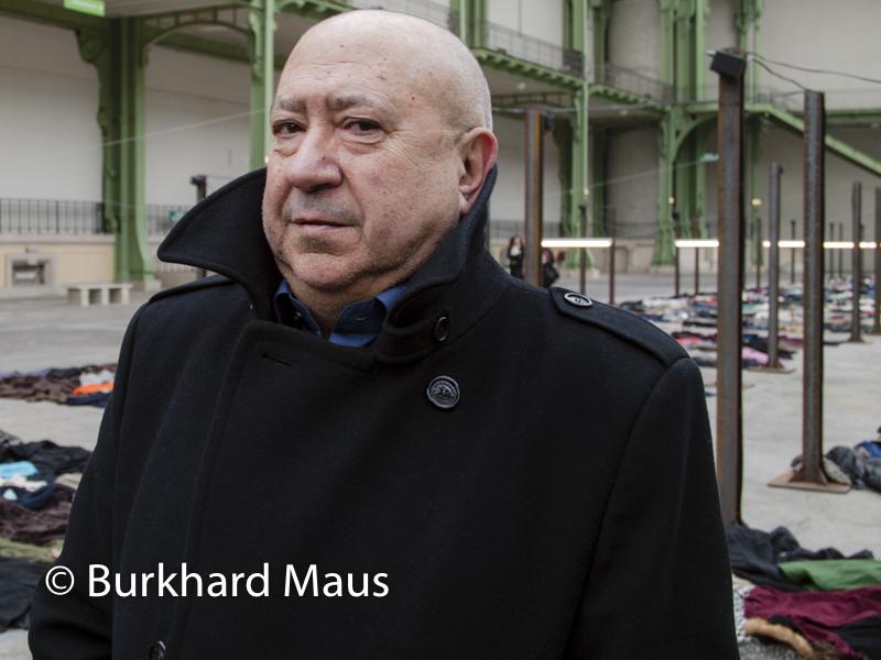 """Christian Boltanski, (Portait), """"Personnes"""", Monumenta 2010, Grand Palais, Paris"""