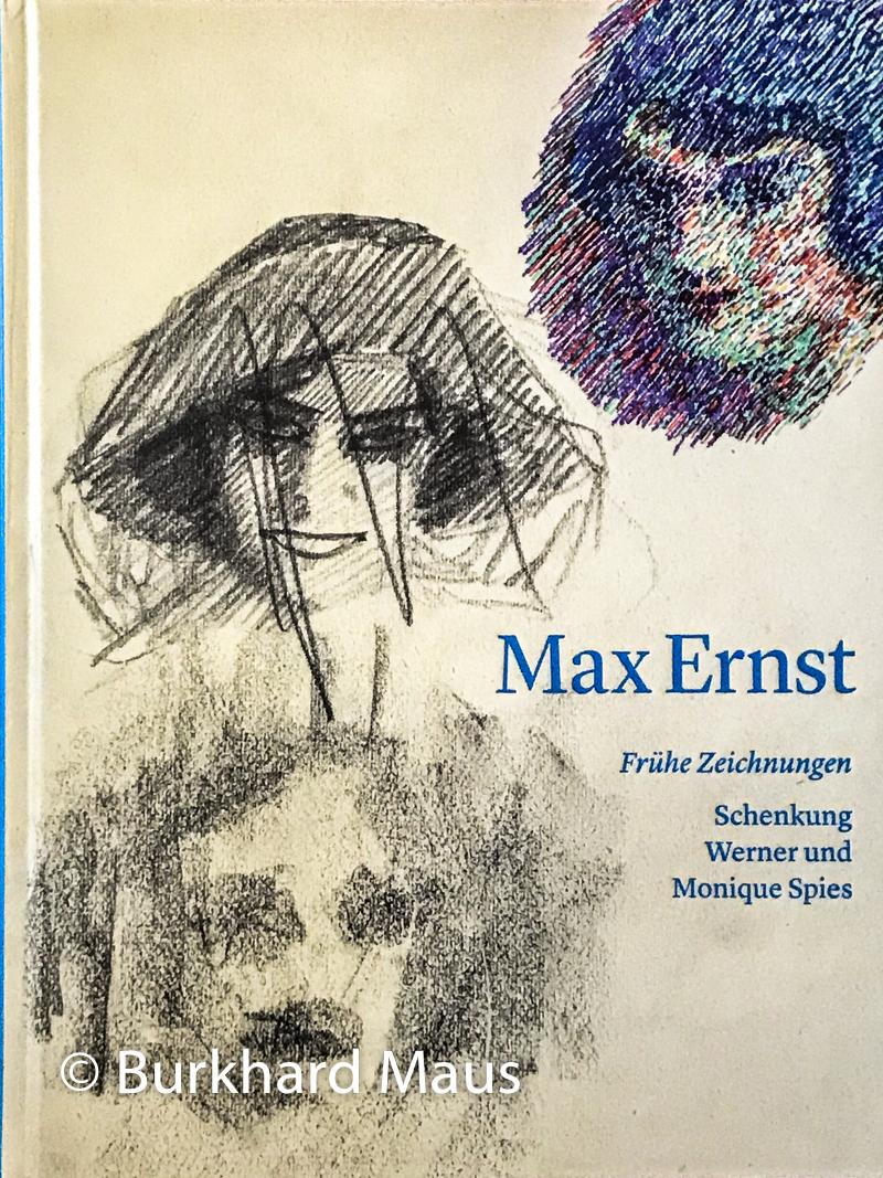 """""""Max Ernst, Frühe Zeichnungen, Schenkung Werner und Monique Spies"""", Katalog-Umschlag (détail), Max Ernst Museum Brühl, 2018, ISBN 978-3-944453-07-1"""