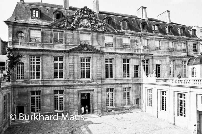 Musée national Picasso-Paris, (Frontansicht, Eingang) (détail) 1985