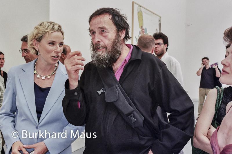 Giovanna Melandri, (Ministro per i Beni e le Attività Culturali), Harald Szeemann, (Portraits), Esposizione internazionale d'arte di Venezia, Venise
