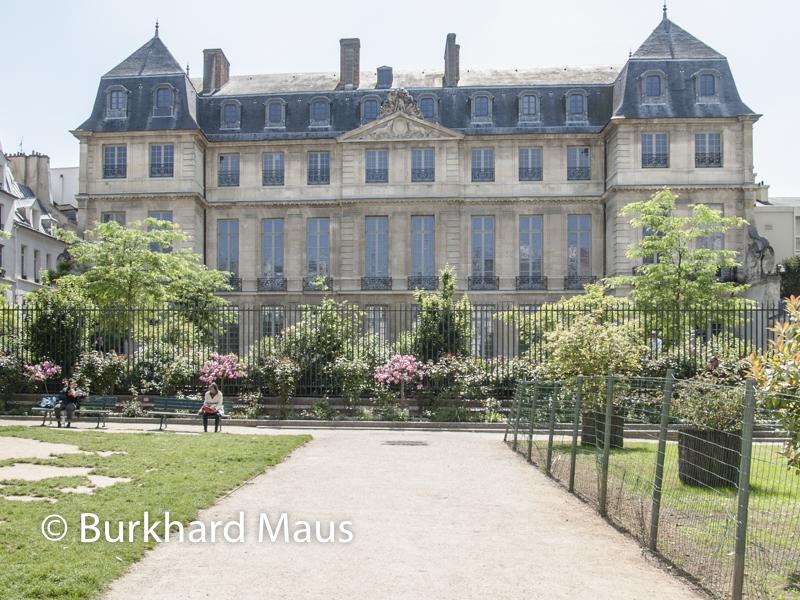 Musée national Picasso-Paris, Paris (derrière ), Paris