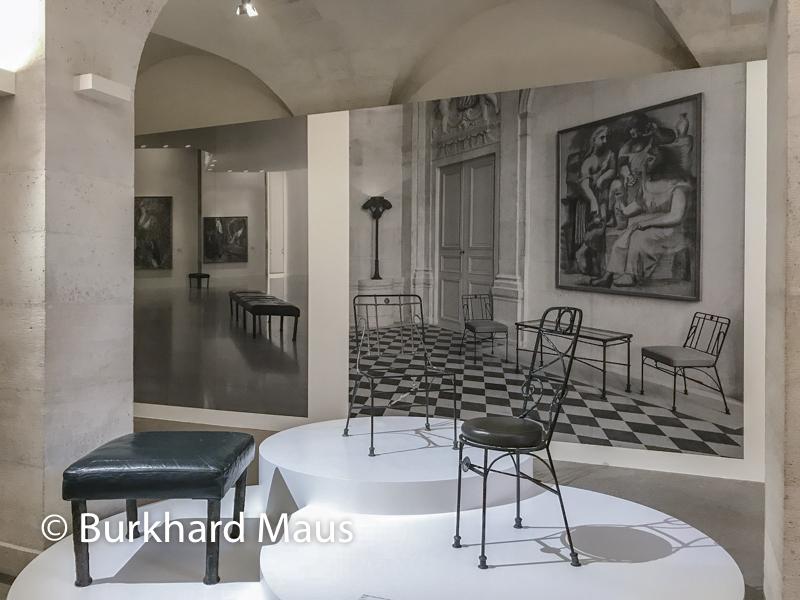 Diego Giacometti au Musée Picasso, /détail), Paris