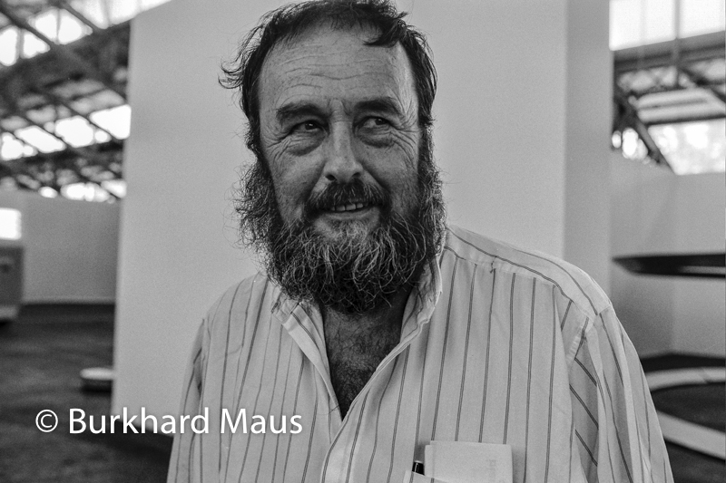 Harald Szeemann,(Portrait), Biennale de Lyon art contemporain 1997, Lyon