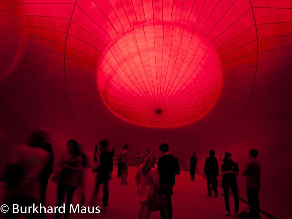 """Anish Kapoor, """"Leviathan"""", Monumenta 2011, (détail), Grand Palais, Paris"""