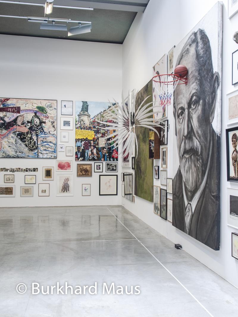 """""Le Mur, La Collection Antoine de Galbert"" (détail), La Maison Rouge, Fondation Antoine de Galbert, Paris"