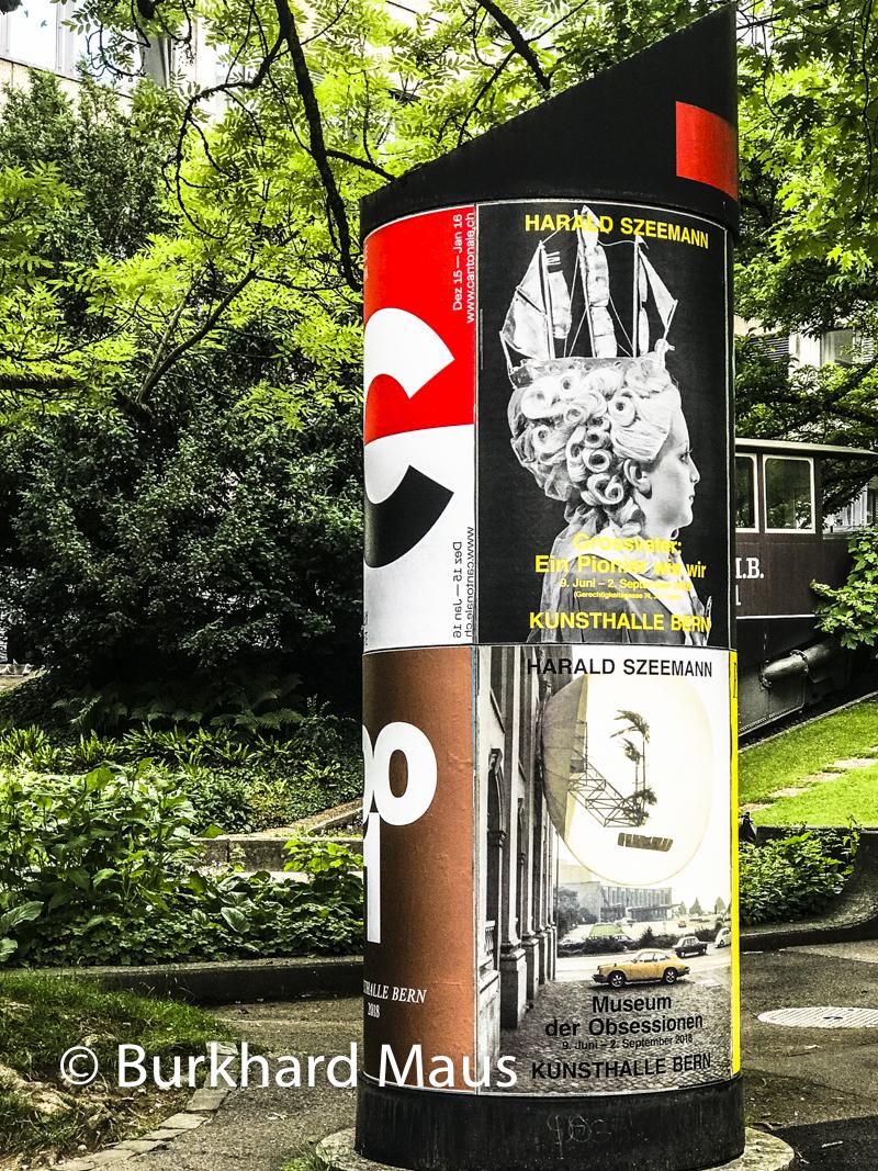 Harald Szeemann, Kunshalle Bern, Bern