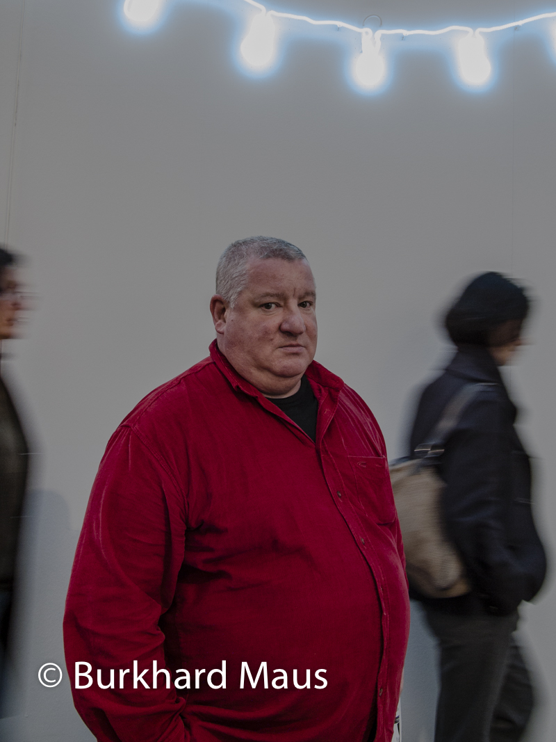 Claude Lévêque, (Portrait), Foire Internationale d'Art Contemporain (FIAC), Paris