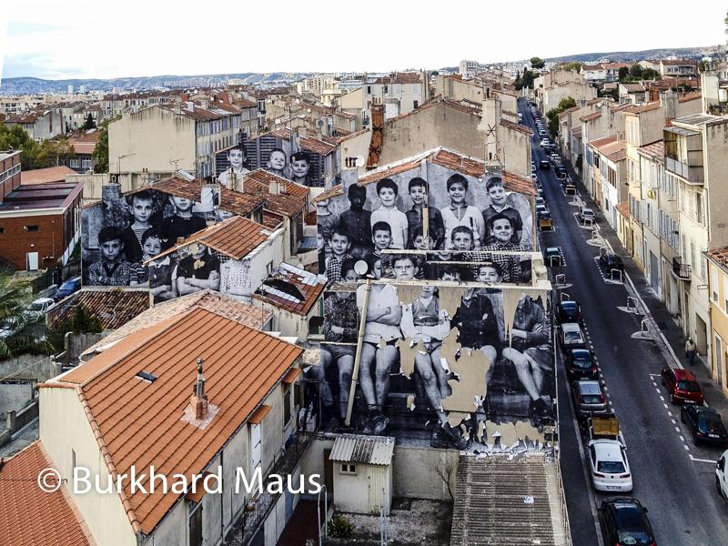J.R., Belle de Mai Unframed, Boulevard Leccia, Marseille