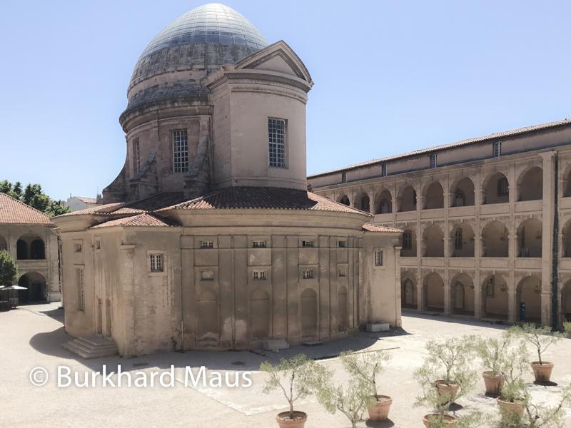 Chapelle du Centre de la Vieille Charité (détail), Marseille