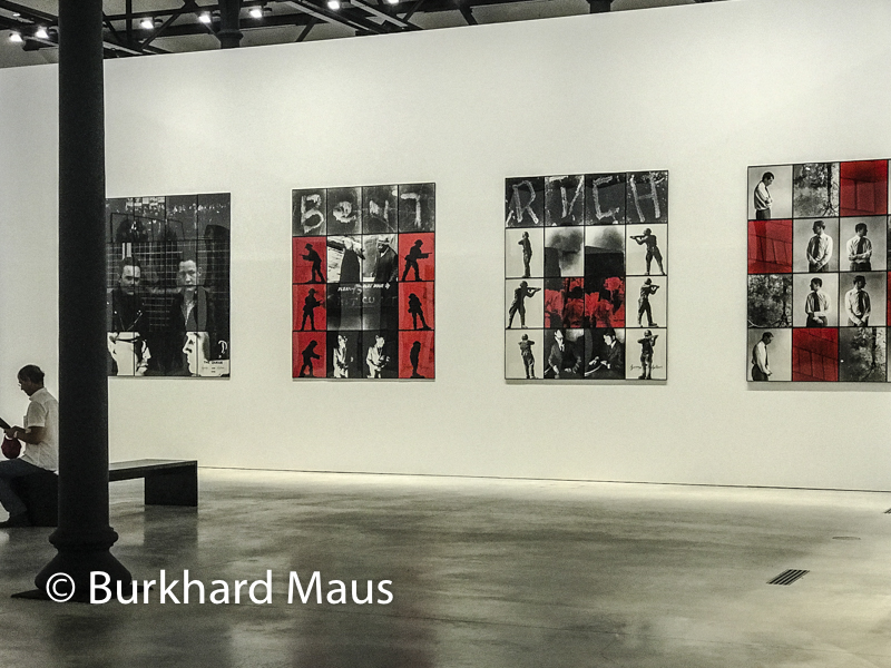 Gilbert & George, The Great Exhibition, (détal), Luma Foundation, Arles