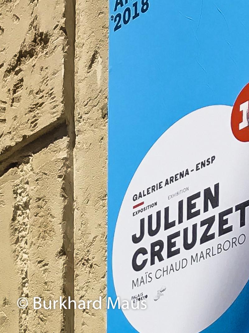 Julien Creuzet, Maïs chaud Malboro (détail), Les Rencontres de la Photographie d'Arles 2018, Arles
